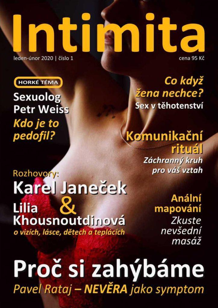 časopis Intimita - leden 2020 (Valentýn)
