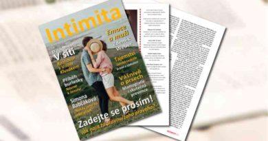 Časopis Intimita číslo 2020 březen